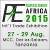 Power & Energy Africa 2015 in Dar-es-Salaam, Tanzania.